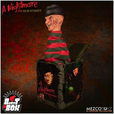 MEZCO Burst a Box: Nightmare on Elm Street Freddy Krueger