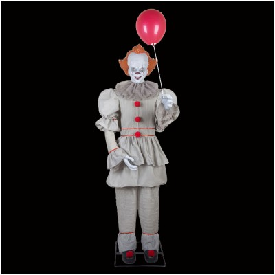 Animated 2017 Pennywise Life Size Figure