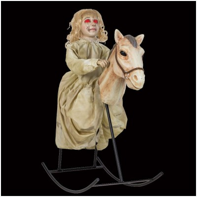 Rocking Horse Dolly Animated Figure