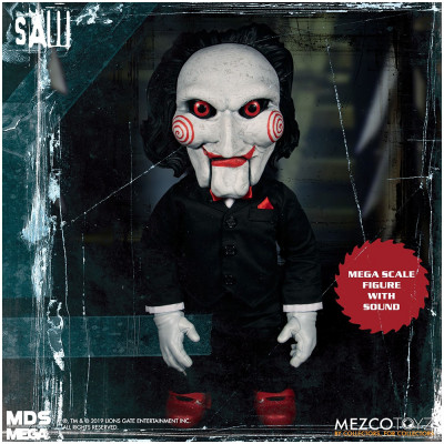 Mezco MDS Mega Scale Saw Billy with Sound