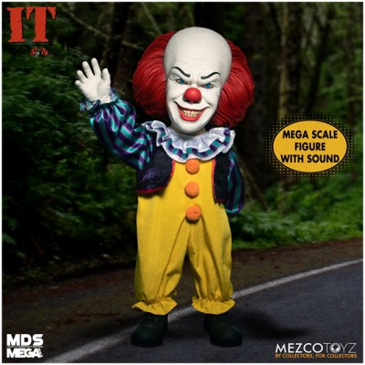Mezco MDS Mega Scale IT (1990) - Talking Pennywise- PRE ORDER