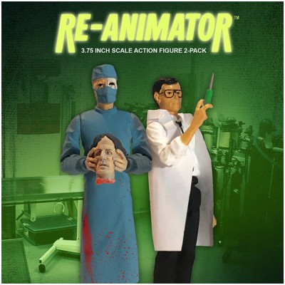 Monstarz Re-Animator 'Dr. Herbert West and Dr. Carl Hill' Retro Action Figure Set