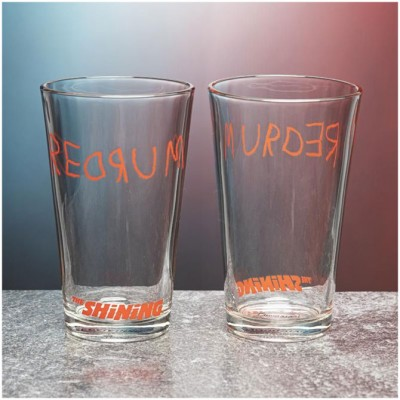 The Shining Set of 4 Redrum Glasses