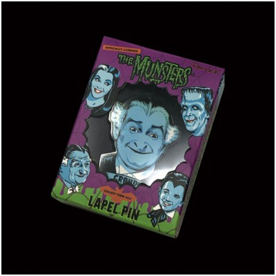 Retro-A-Go-Go Enamel Pin - The Munsters, Grandpa