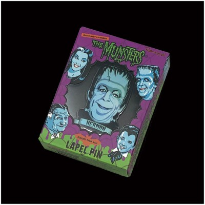 Retro-A-Go-Go Enamel Pin - The Munsters, Herman