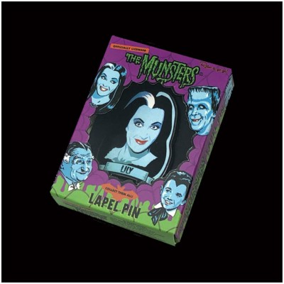 Retro-A-Go-Go Enamel Pin - The Munsters, Lily