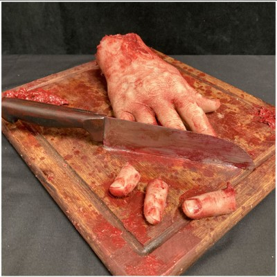 Silicone Hand Chopping Board Prop