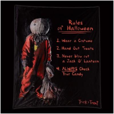 Spirit Halloween - Trick R Treat - Rules of Halloween Fleece Blanket