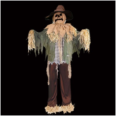 Standing Surprise Scarecrow Animated Prop