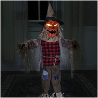 """36"""" Twitching Scarecrow Animated Prop - PRE ORDER"""