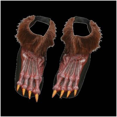 Brown Werewolf Feet