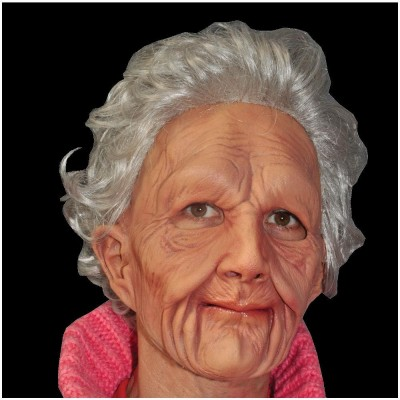 Supersoft Old Woman Latex Mask
