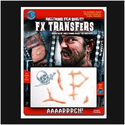 Tinsley Transfers 3D FX Fake Scar Kit