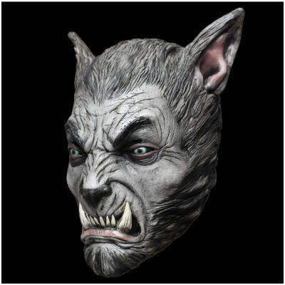 Silver Beast Werewolf Mask