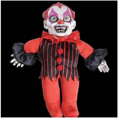 Haunted Halloween Doll Giggles the Clown