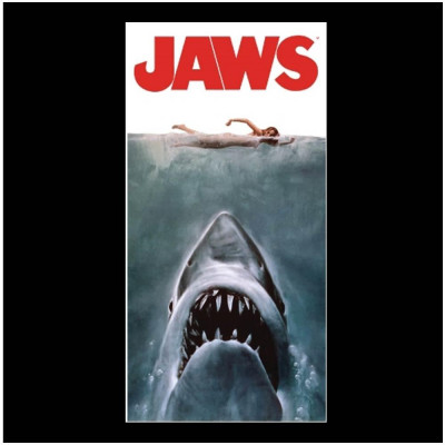 Jaws Poster Beach / Bath Towel