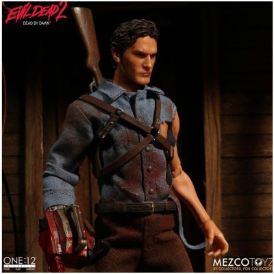 MEZCO One:12 Ash from Evil Dead 2