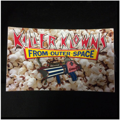 Killer Klowns Raygun Pin