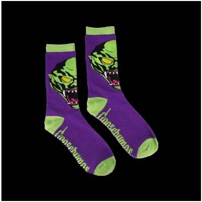 Creepy Co. Goosebumps Haunted Mask Socks