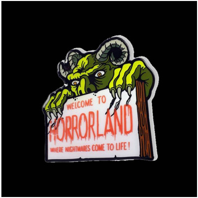 Creepy Co. Goosebumps Horrorland Pin