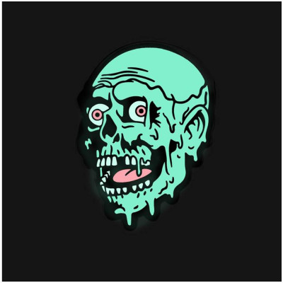 Creepy Co. Trioxin Glow Tarman Pin