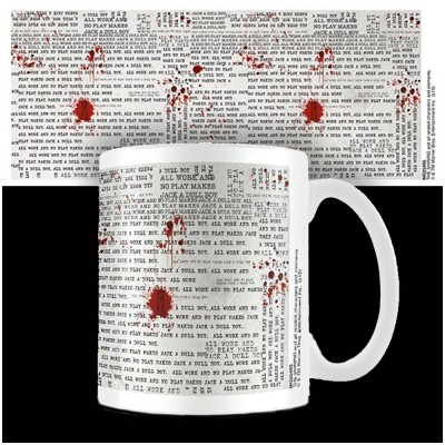The Shining All Work and No Play Mug