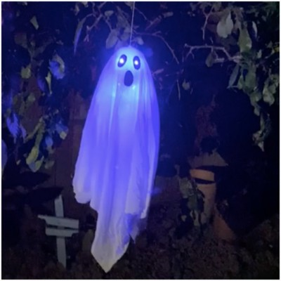 Animated Floating Ghost