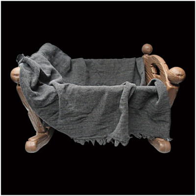 Animated Haunted Baby Cradle