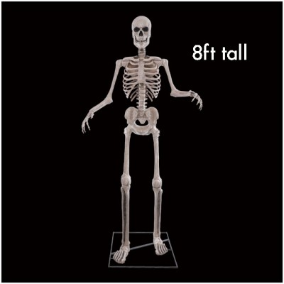 8ft Skeleton Animated Figure with Digiteyes - PRE ORDER
