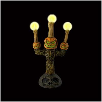 Striking Pumpkin Candelabra - PRE ORDER