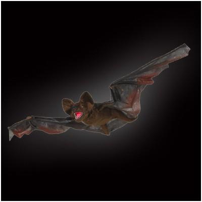 Flying Bat Hanging Animated Prop