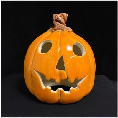 Ceramic Pumpkin - All Hallows Eve