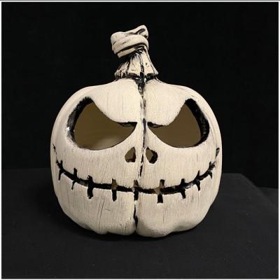Ceramic Pumpkin - Halloween Skeleton - PRE ORDER