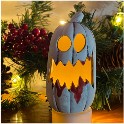 Ceramic MiniPumpkin - Bloody Mary