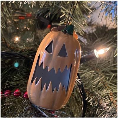 Mini Pumpkin Christmas Ornament