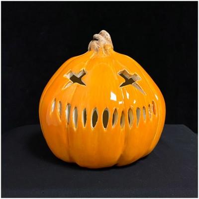 Ceramic Medium Pumpkin - Samhain