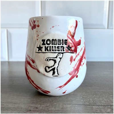 Zombie Killer Mug - Mad About Horror Exclusive