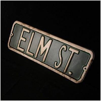 Elm Street Replica Sign