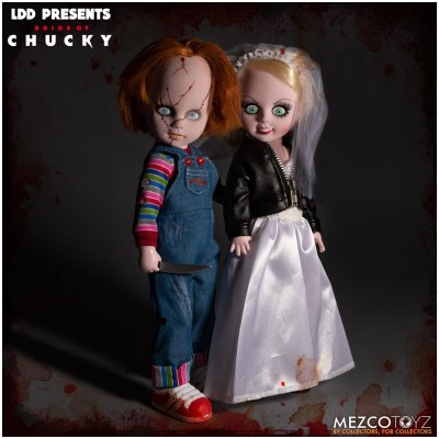 MEZCO Living Dead Dolls Chucky and Tiffany Set