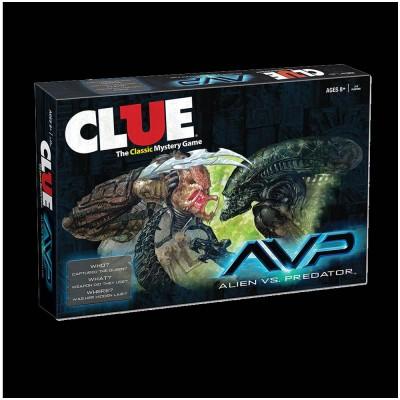 Clue - Alien Vs Predator Game