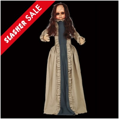 Cracked Doll Animated Prop 1.5m - SALE