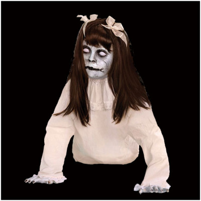Crawling Possessed Girl Animated Prop - PRE ORDER