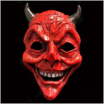 Resin Devil Face Mask