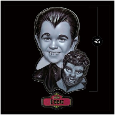 Retro-A-Go-Go Giant 3D Wall Decor - The Munsters, Eddie