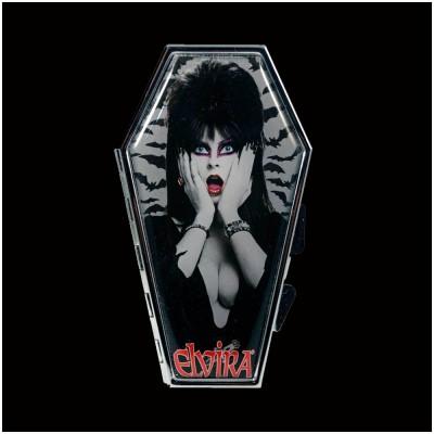 Elvira Coffin Bats Coffin Compact