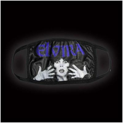 Kreepsville 666 - Elvira Classic Purple Logo Face Mask
