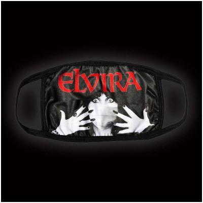 Kreepsville 666 - Elvira Classic Red Logo Face Mask