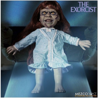 Mezco Mega Scale The Exorcist Regan with Sound