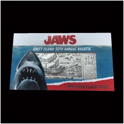JAWS Silver Plated Amity Island Regatta Limited Edition Ticket
