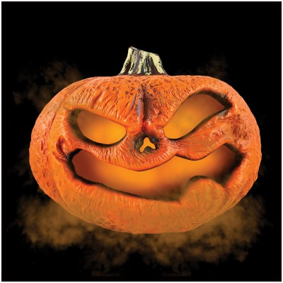 Flickering Flame LED Rotted Pumpkin